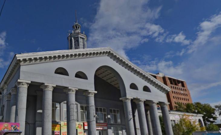 показать фото автовокзала города красноярска